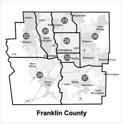 Franklin County Districts