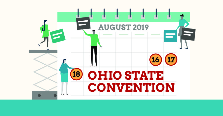 Ohio State Convention banner