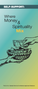 Self-Support: Where Money & Spirituality Mix pamphlet link